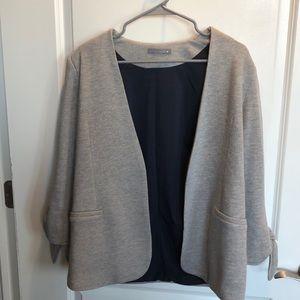 Olivia Moon sweater blazer